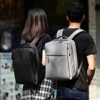 小米双肩包简约休闲多功能书包时尚潮流旅行背包男女笔记本电脑包