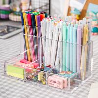 多功能笔筒学生用品办公室桌面收纳可爱笔盒文具ins北欧创意时尚