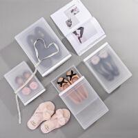 抽屉式鞋盒塑料透明鞋子收纳盒男女防尘加厚组合鞋柜