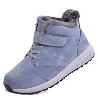 冬季运动男士棉鞋大码加绒保暖学生加厚男鞋冬鞋青少年冬天潮鞋子