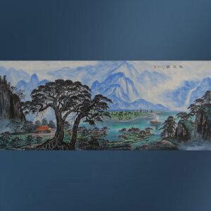 实力派彩墨画家  王红彦  雅居图    /2-89