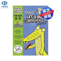 英文原版 Lets Do Comprehension 英国小学英语阅读理解练习册8-9岁 小学教材教辅