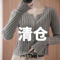秋冬新款针织开衫女时尚短款外搭长袖显瘦毛衣打底衫上衣外套披肩