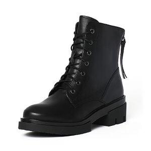 Teenmix/天美意冬季专柜同款小牛皮女靴6R542DD6