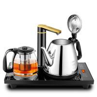 自动上水电热水壶家用不锈钢抽水烧水壶泡茶具套装电茶壶