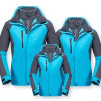 亲冬装2018新款户外儿童冲锋衣两件套三合一防水雨保暖登山服