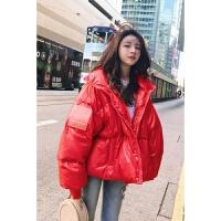 女冬季新款韩版ins面包服短款棉衣宽松bf棉袄外套潮