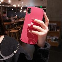 新款纯色苹果X手机壳女6/6s/8/xr/xsmax防摔iPhone7plus软iPhonex