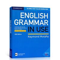 【全店300减110】英文原版剑桥英语语法书 中级【第五版】 English Grammar in Use 进口正版 带