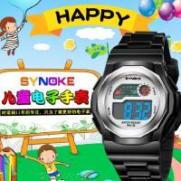 时诺刻/SYNOKE 儿童电子手表 儿童学生电子表 生活防水 时尚多功能小学生手表