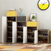 门口小鞋柜简约现代门厅柜多功能玄关组合柜简易经济型省空间家用
