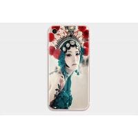 原创意苹果iphone5se/6/7中国风唯美手机壳6plus戏曲美女保护壳套