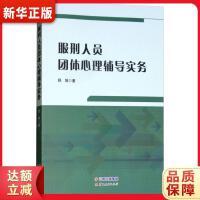 服刑人员团体心理辅导实务 舒姝 9787222172432 『新华书店 品质保障』