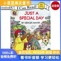 #小豆豆英文童书 Little Critter:Just a Special Day 小怪物:特别的日子 英文原版绘本