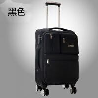 行李箱万向轮女韩版帆布拉杆箱旅行箱男22寸密码箱28寸托运软箱子