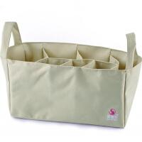 茵秀丽 包中包收纳包内胆妈咪包女士大号小号包内袋分格袋分隔包