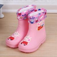 儿童雨鞋男童女童可爱防滑水鞋学生公主小孩雨靴水靴四季通用