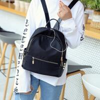 防水双肩包女韩版背包女包旅行包新款书包牛津布帆布妈咪包包