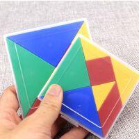 晨光幼儿园图形认知板 盒装七巧板 学生教具拼图板教学用ARK99904