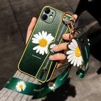 小雏菊苹果11手机壳摄像头全包iPhone11镜头防摔promax硅胶保护套pro腕带支架一体xsmax挂绳xs软ma