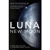 英文原版小说 新月 New Moon Ian McDonald 全英文版小说 经典文学 进口书 正版