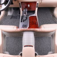 C30 S40 S60L V40全包围丝圈+皮革 汽车专用脚垫环保无味 沃尔沃XC90 三排