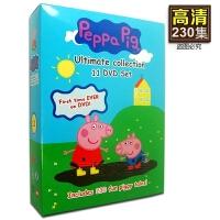 英文原版 粉红猪小妹Peppa Pig小猪佩奇 全集5季DVD英语字幕动画