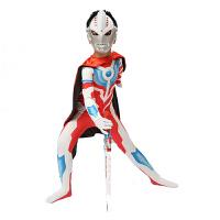 【六一儿童节】奥特曼衣服 童装万圣节儿童服装迪迦赛罗超人男童奥特曼披风套装