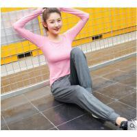 时尚新款显瘦速干运动套装女健身瑜伽服跑步套装瑜珈裤
