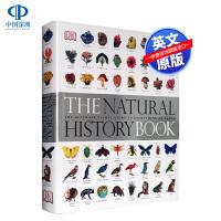 Dk 博物大百科 自然史图解大百科 英文原版 少儿百科 精装大开本 植物动物图鉴The Natural History