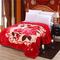 珊瑚绒毛毯被子加厚冬季法莱绒单双人学生午睡毯夏季空调毯 200*230cm 【8斤】