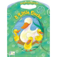 英文原版 Three Little Ducks