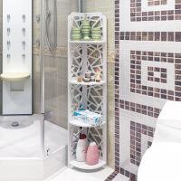 卫生间置物架落地式免打孔壁挂洗手间马桶收纳架子厕所浴室三角架p5r