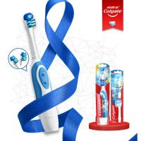 高露洁(Colgate)360全面口腔清洁 电动牙刷套装(电动牙刷*1+替换刷头2支装*1)