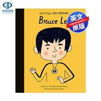 英文原版 小男孩,大梦想:李小龙 Bruce Lee 名人传记 Little People, Big Dreams 精装