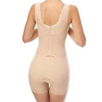 薄款燃脂产后束身美体内衣收腹提臀开档塑身连体衣衣
