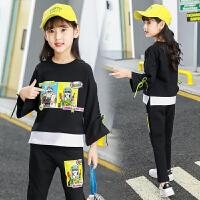 女童秋装中大儿童装秋季时尚洋气运动两件套潮衣