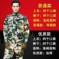 迷彩服套装 男女夏季军装学生军训服特种兵作训服户外耐磨工作服 优质04特战 175