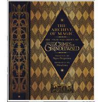 【现货】英文原版 神奇动物在哪里2:格林德沃之罪魔法档案设定集 The Archive of Magic: Fanta