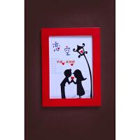 实木挂墙相框摆台7寸5 6 8 10 11 12寸A4A3创意彩色儿童画框相架 5寸(挂墙 横竖通用)
