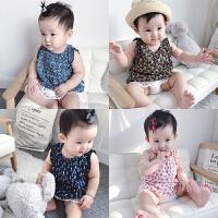 女童婴儿童夏季连衣群0岁3个月女宝宝公主洋气裙子