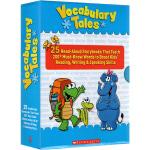 Scholastic Vocabulary Tales 学乐单词汇学习25册朗读绘本故事书 此定制款没有老师手册