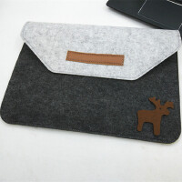 苹果电脑包笔记本内胆包13.3寸毛毡公文包保护套