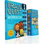 大脑任务 Brain Quest Grade 1 一年级儿童智力问答开发 盒装卡片 练习册 美国学前全科练习