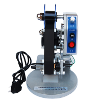 涵海DY-8手压色带打码机打生产日期仿喷码机直热式手动钢印打码器