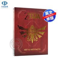 塞尔达传说游戏艺术画册30周年版艺术设定集英文原版The Legend of Zelda: Art & Artifact