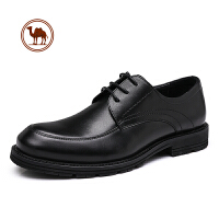 骆驼牌男鞋 皮鞋男通勤商务正装真皮休闲鞋子男鞋百搭内增高