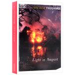 八月之光 英文原版 文学小说 Light In August 英文版原版书籍 正版进口英语书 福克纳作品 Vintag