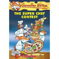 英文原版 老鼠记者:58 Geronimo Stilton #58: The Super Chef Contest