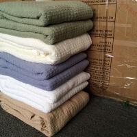 纯棉沙发巾全盖纯色沙发垫布艺全棉罩盖毯盖布套